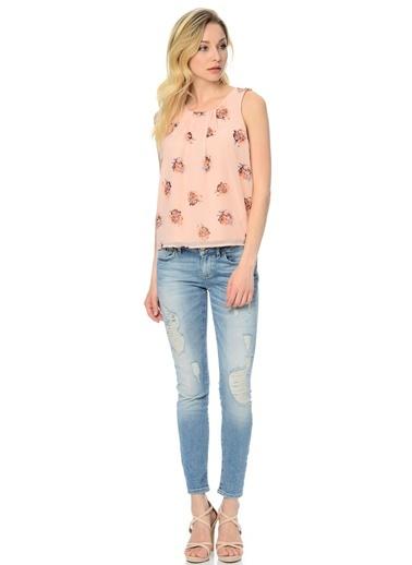 Desenli Bluz-Vero Moda